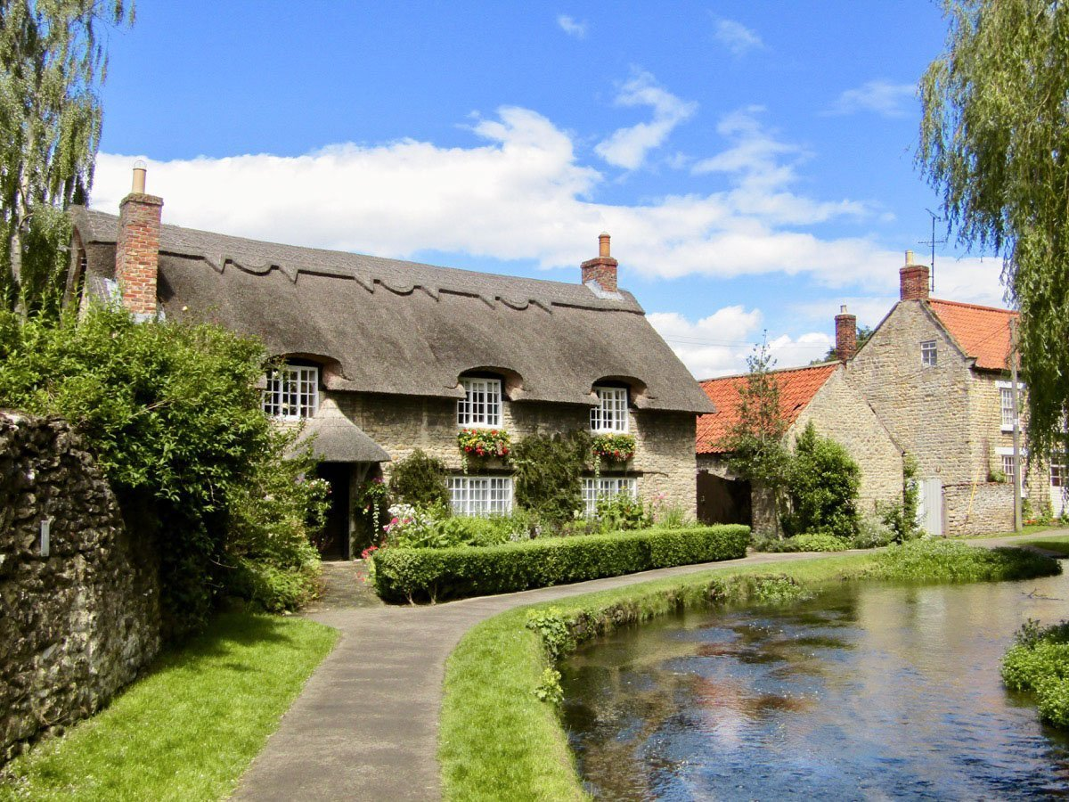 Beck Isle Cottage in Thornton-le-Dale, North Yorkshire.