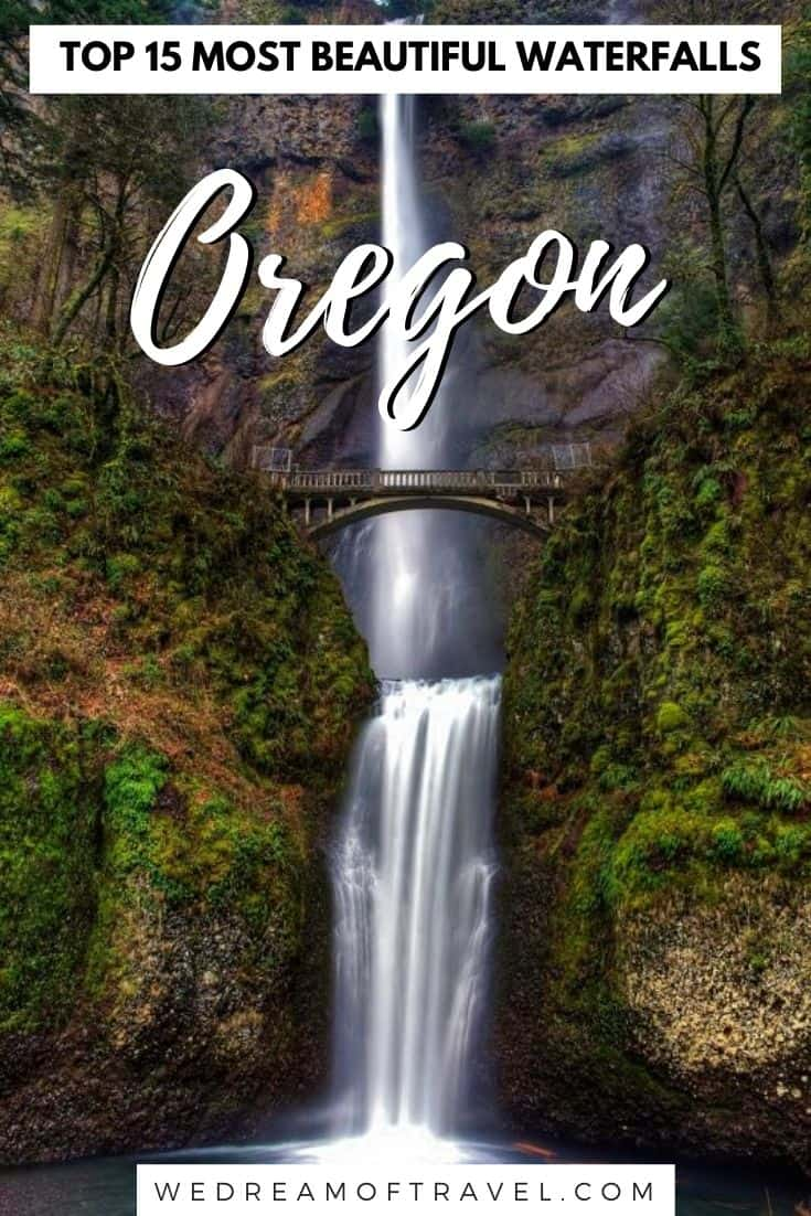 Discover the top 15 best waterfalls in Oregon.  Add these stunning Oregon waterfalls to your bucket list.