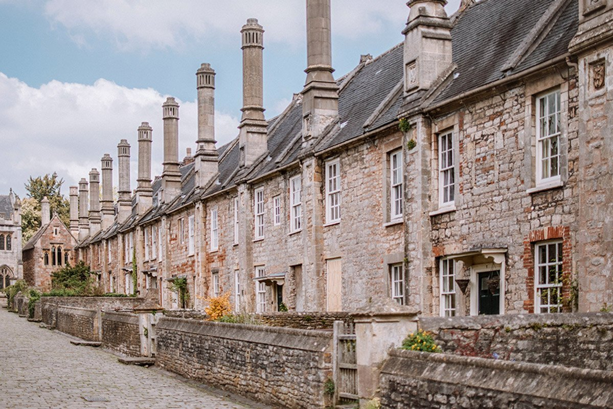 Vicars' Close in Wells - the smallest city in England!