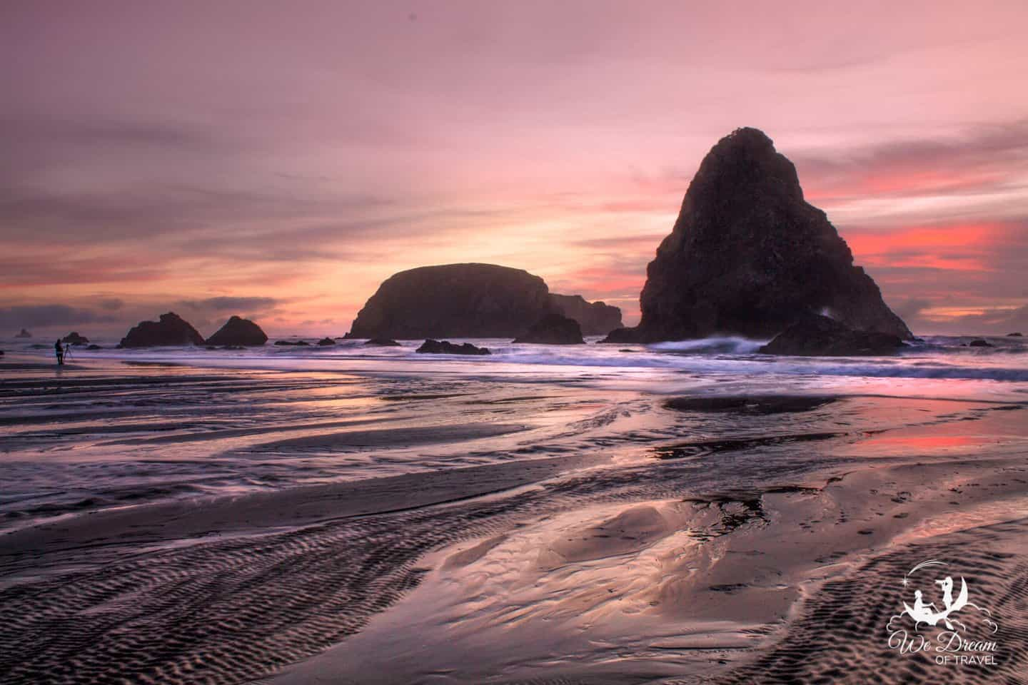 Sunset at Whaleshead Beach on the Oregon Coast