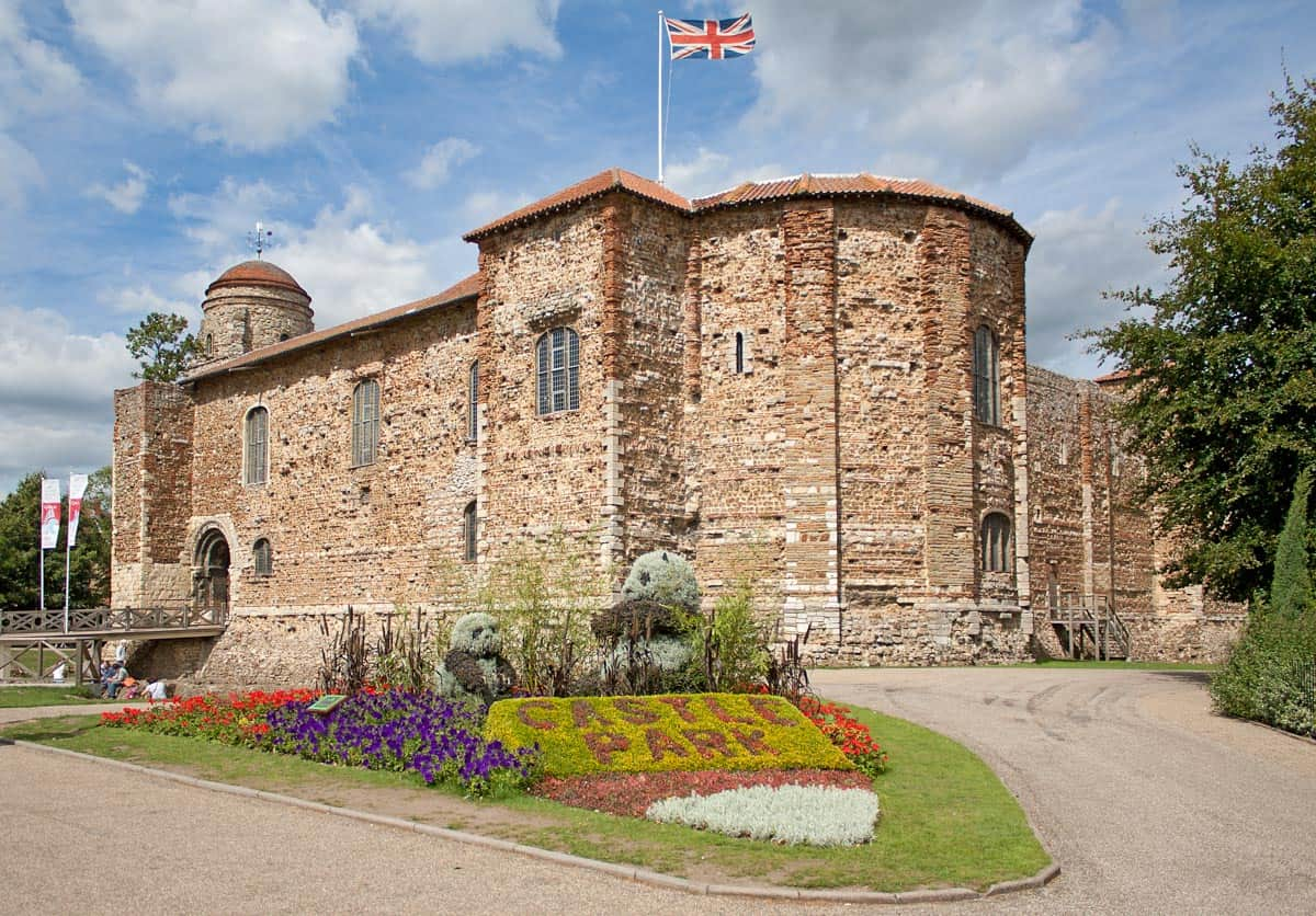 Colchester Castle in one of the best castles near London