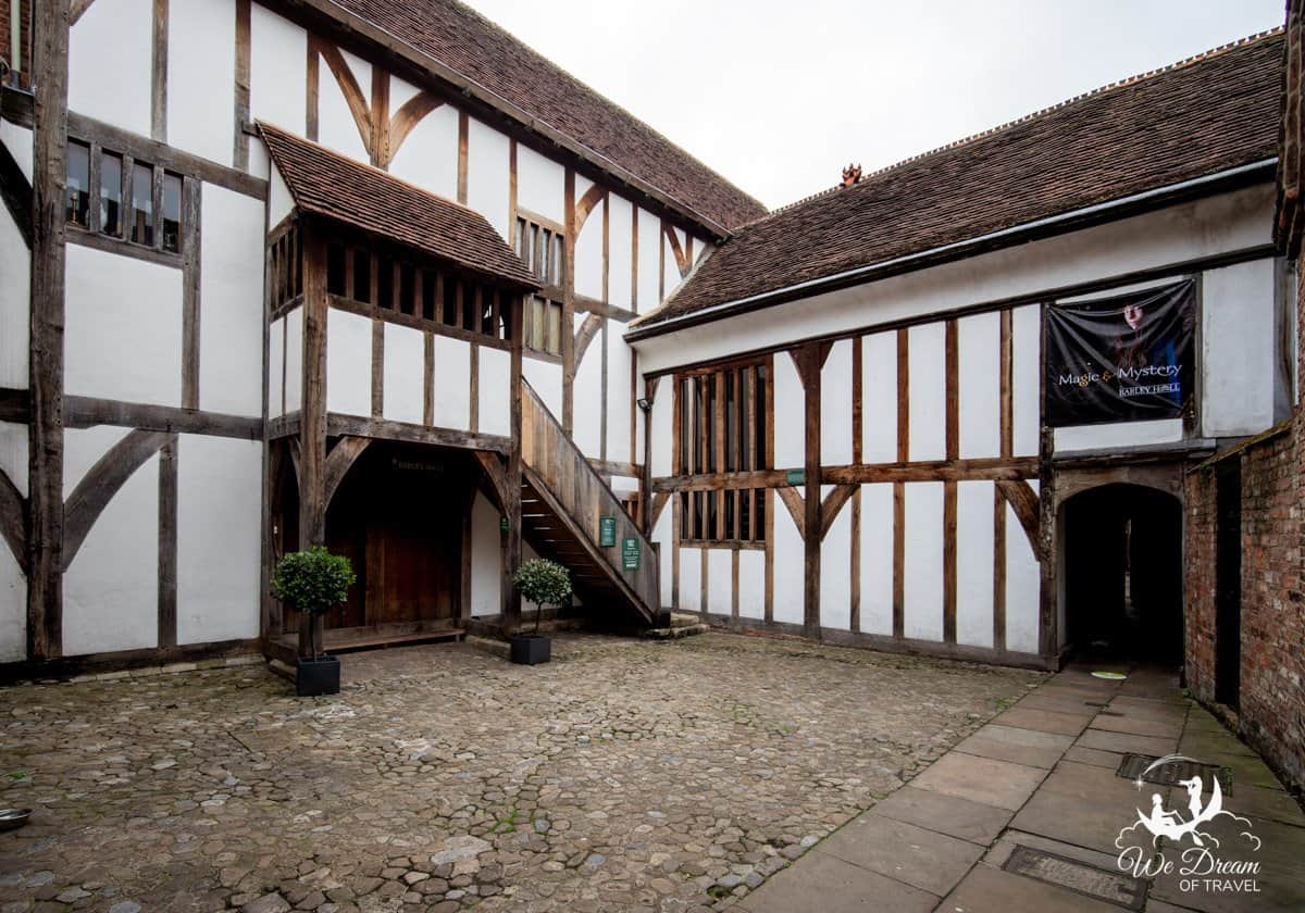 14th century timbered building of Barley Hall