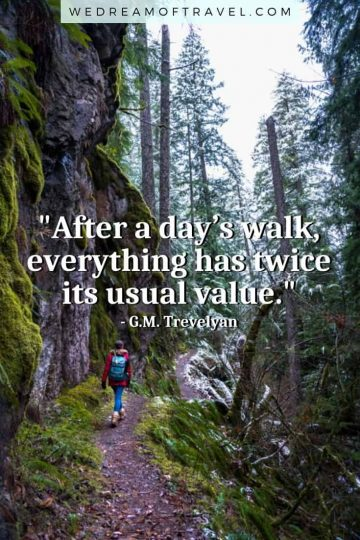Discover 120+ of the BEST hiking quotes to inspire you to get out on the trail. Or maybe you're looking to reminisce about previous fun hiking adventures. Either way we've got you covered with these hiking quotes for every occasion! hiking quotes | hiking quotes inspirational | hiking quotes wanderlust | hiking quotes couple | hiking quotes adventure | hiking quotes instagram | hiking quotes short | hiking quotes funny | hiking mountain quotes | quotes about hiking | hiking captions instagram | funny hiking captions | quote of the day | motivational quotes
