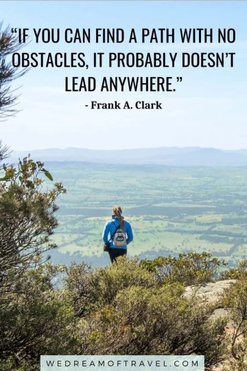 Looking for the best hiking quotes? Find the top 120 quotes about hiking to inspire a new adventure. #hiking #hikingquotes #quotesabouthiking #hikinginstagramcaptions #travelquotes #adventurequotes #naturequotes #travelinspiration