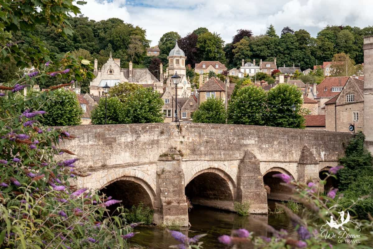 Town Bridge in Bradford upon Avon - a Grade I listed bridge dating back to the 13th century.