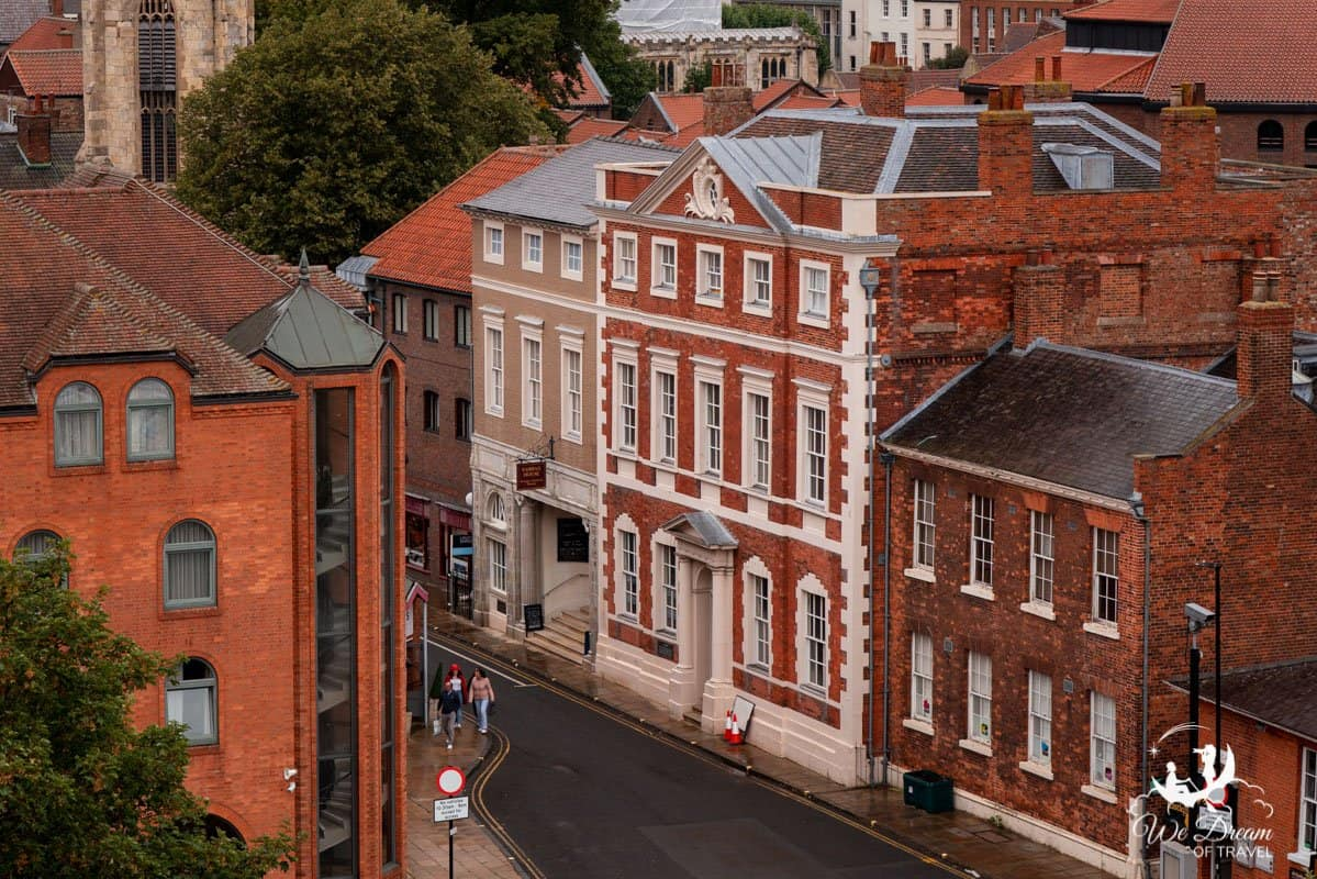 View of Fairfax House from Clifford's Tower