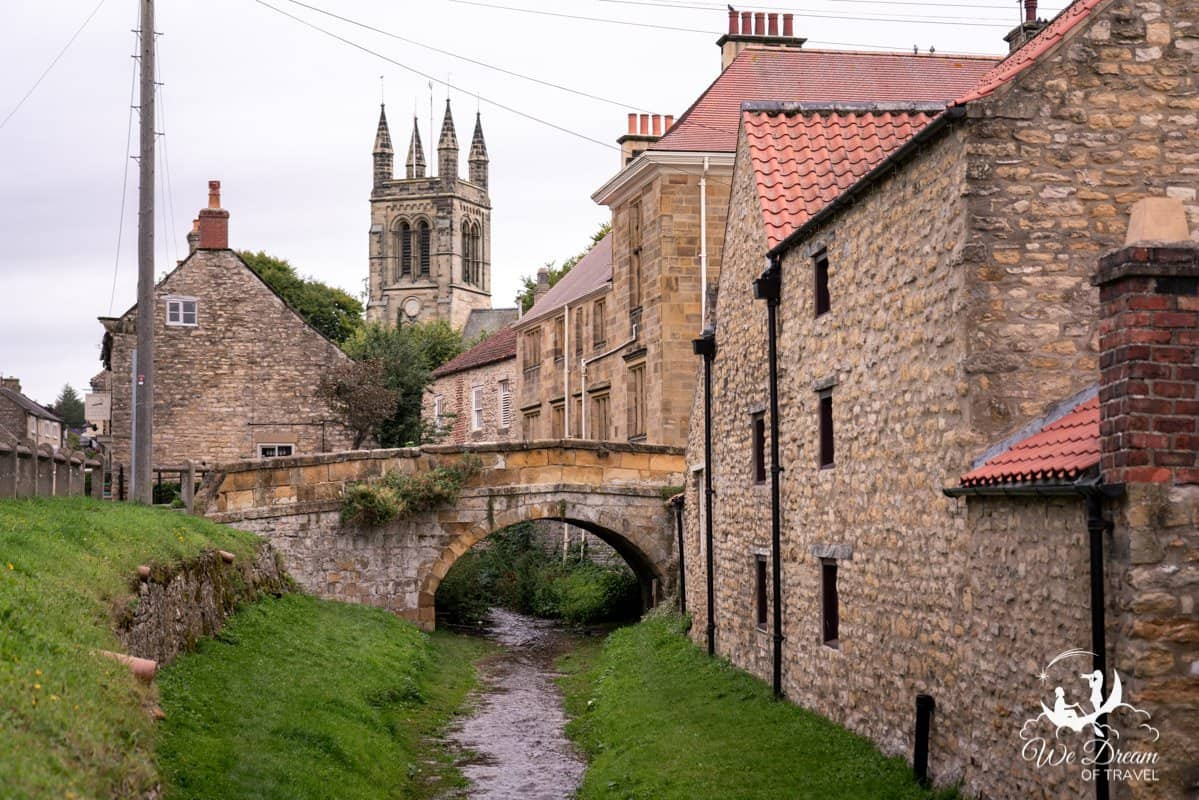 The beautiful village of Helmsley makes for a great day trip from York.