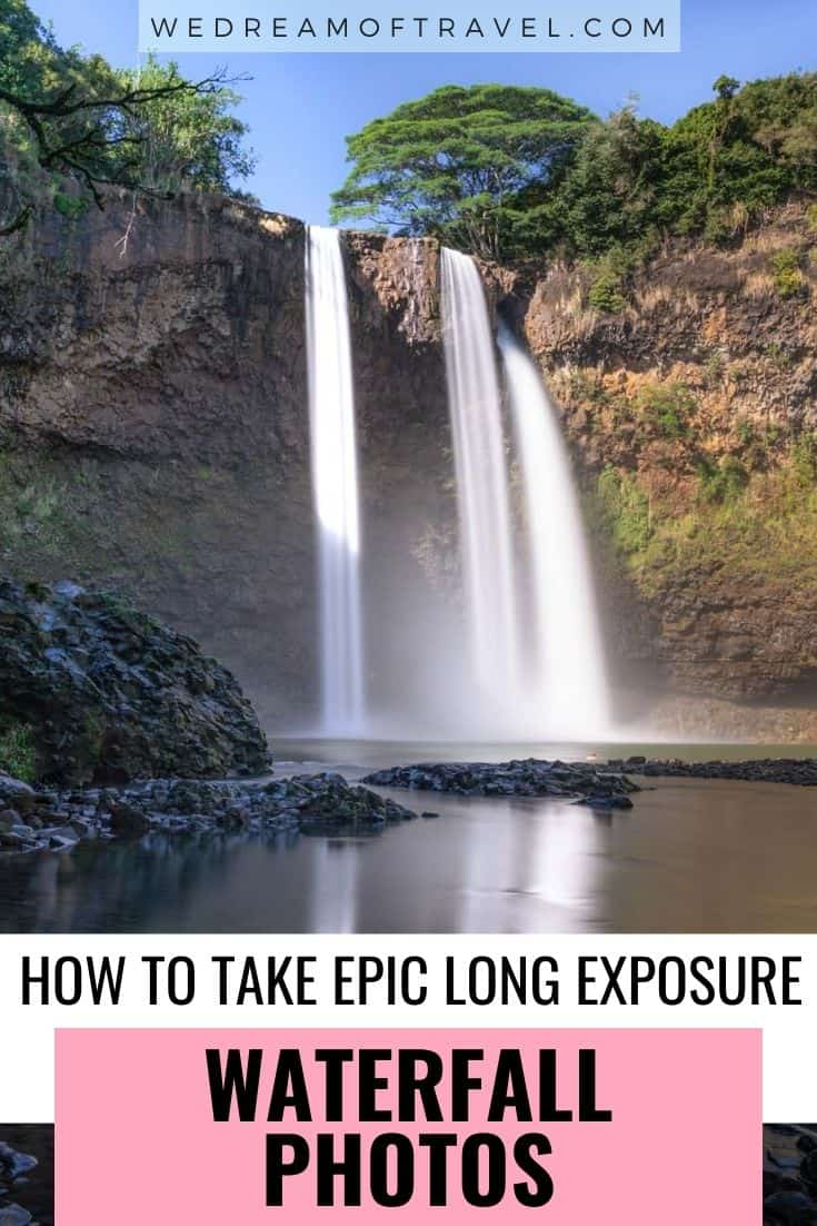 Discover everything you need to know to start capturing incredible waterfall photos today.  A complete guide to long exposure waterfall photography to help you create spectacular waterfall photos.