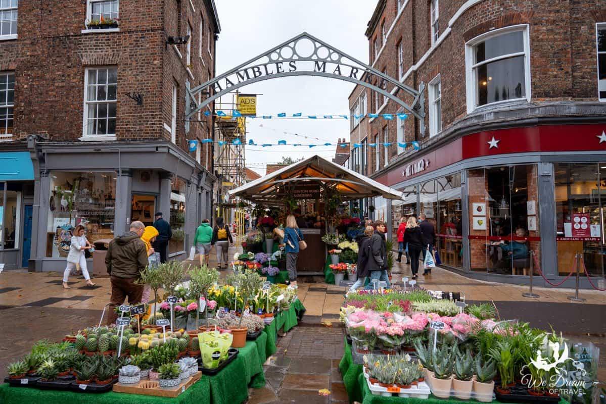 Entrance to the Shambles Market