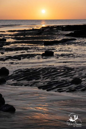 The textures of Birling Gap are incredible at low tide, especially in the light of sunset.
