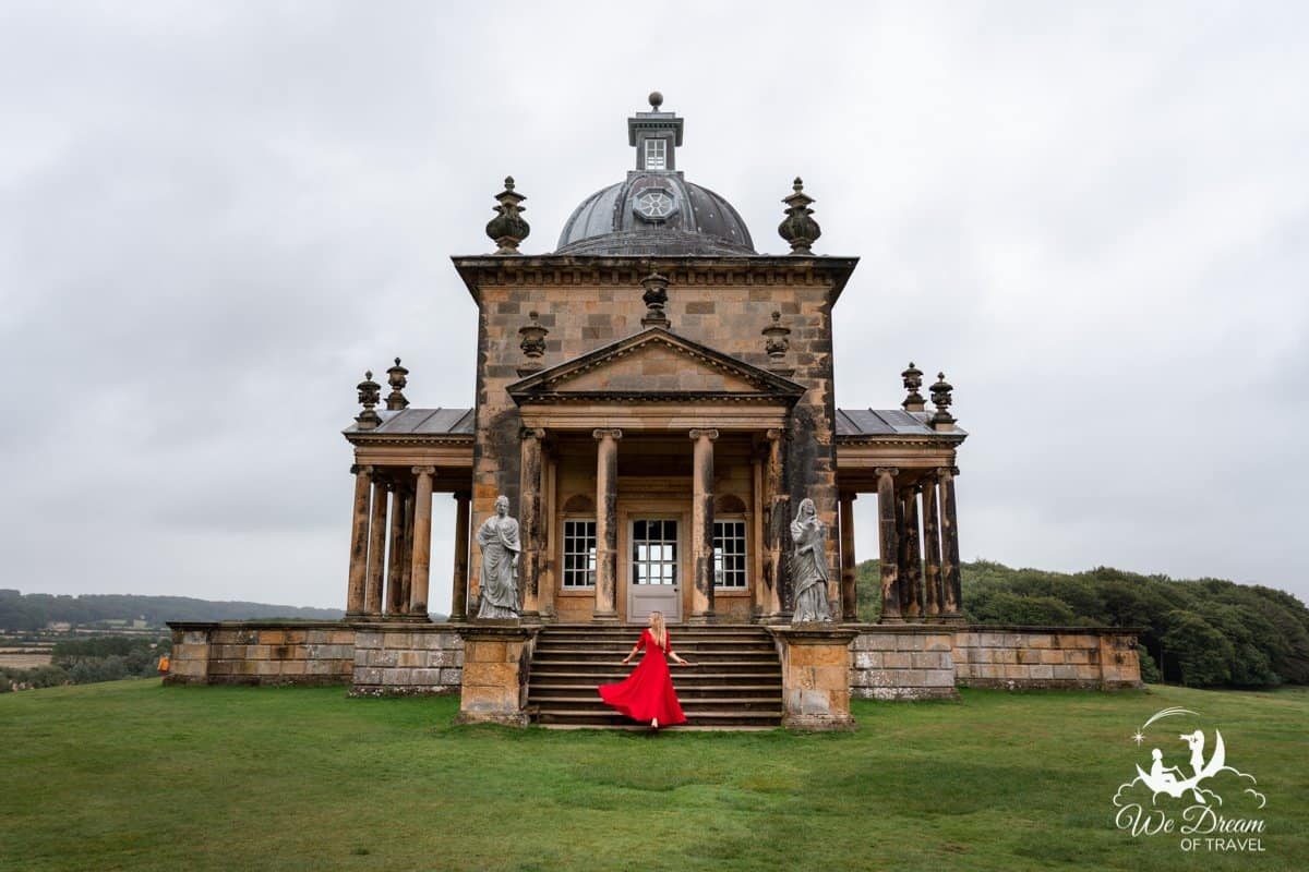 Temple of Four Winds at Castle Howard.