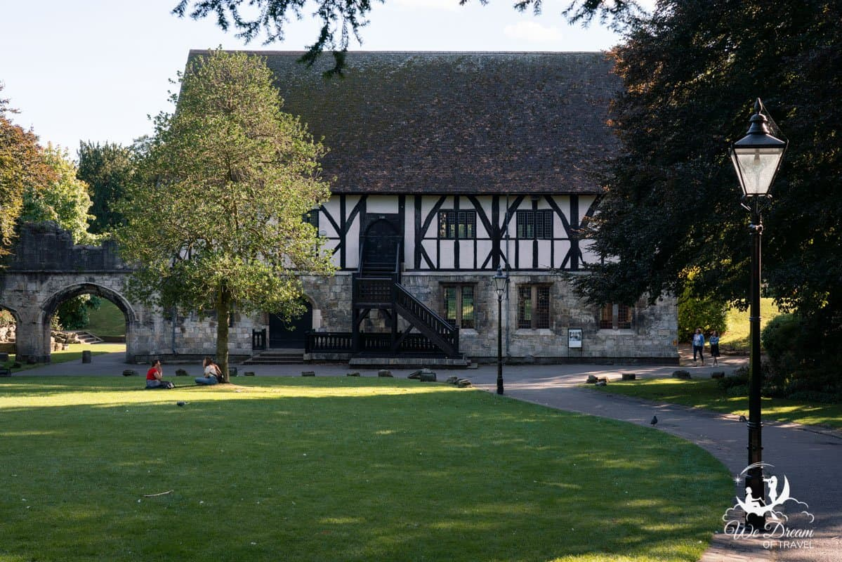 The Hospitum in York Museum Gardens