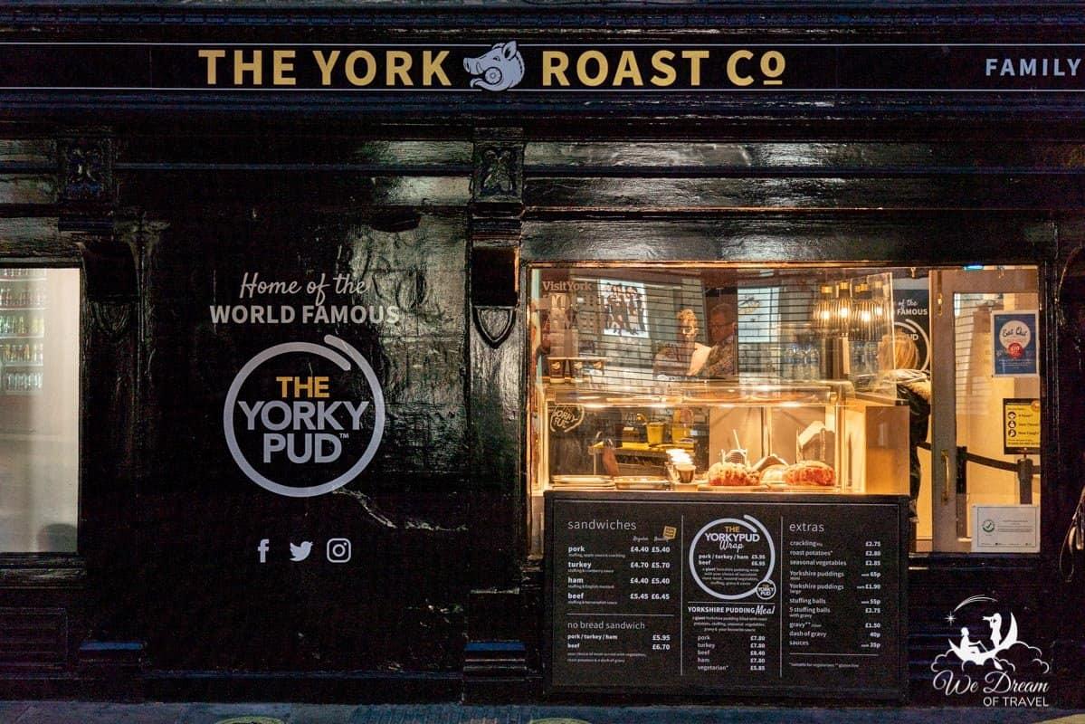 Exterior of York Roast Co
