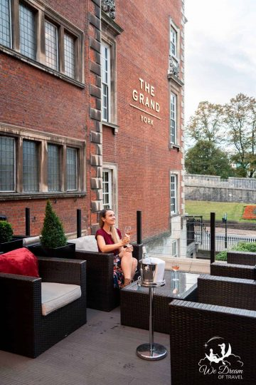 The terrace at The Rise York