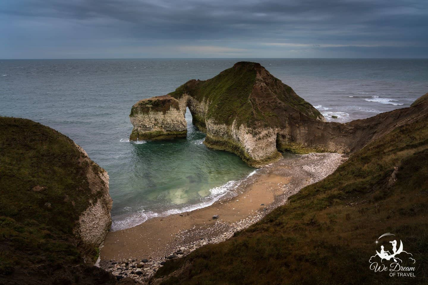 The Drinking Dinosaur at Flamborough Head was our favorite subject for photos.