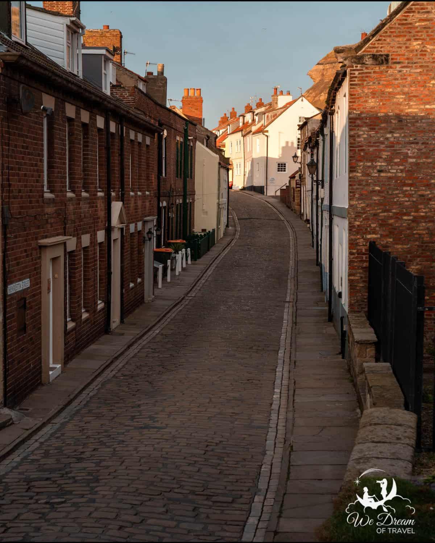 Henrietta Street, Whitby, Yorkshire