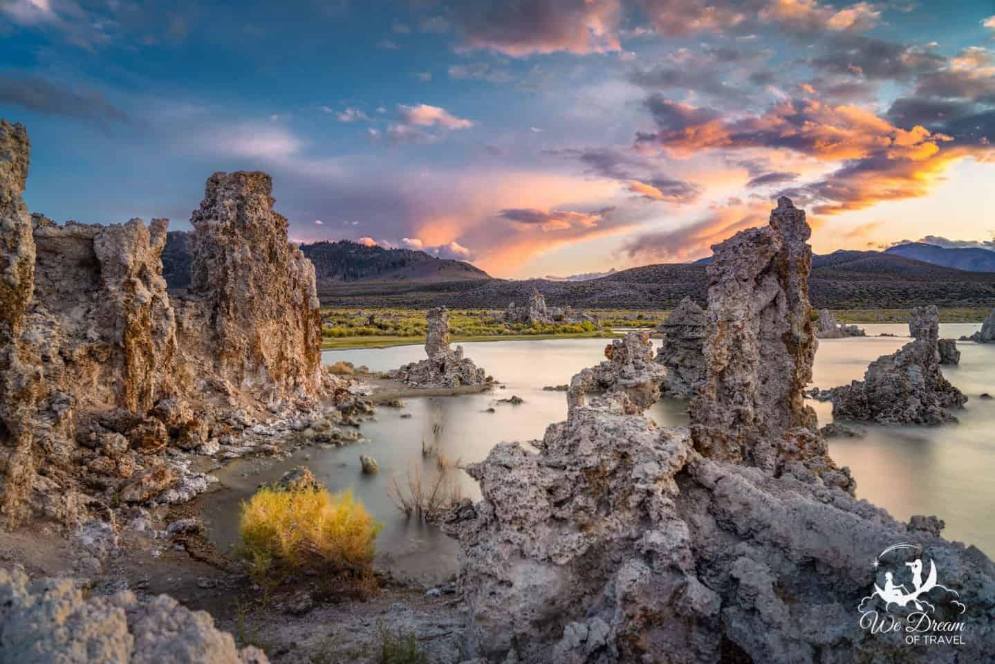 "The otherworldly ""tufa"" of Mono Lake create a dreamlike landscape."