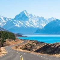 Mt Cook Greeting Card