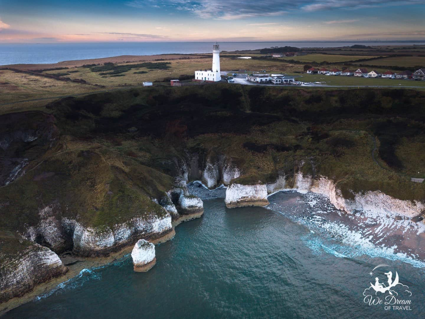 Drone photography provides a new perspective on the incredible scenery of Flamborough.