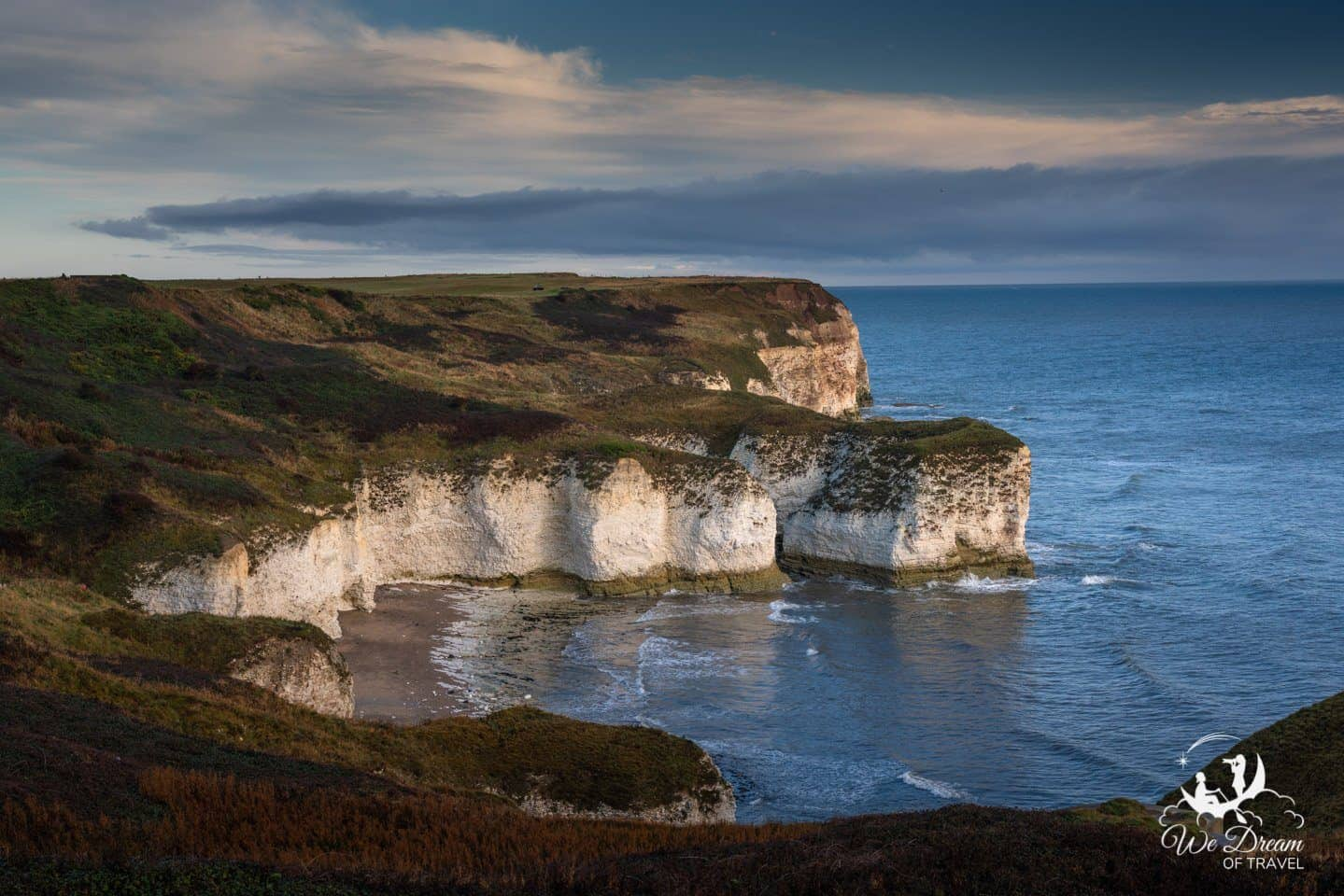 Sunrise at the Flamborough Cliffs