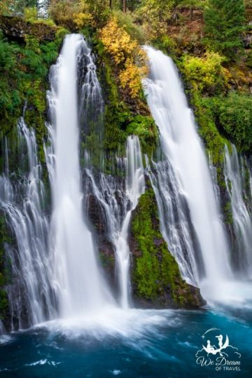 Enjoy a weekend hiking and camping Burney Falls in Northern California.