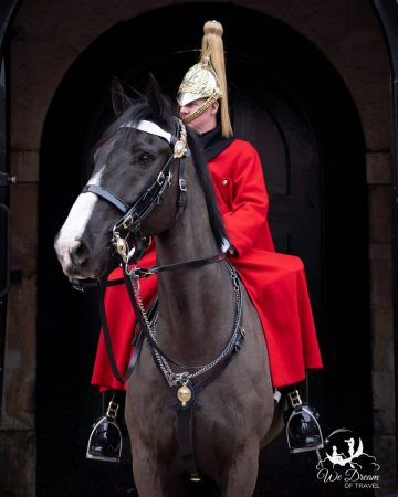 Horse and guard at Horseguards London