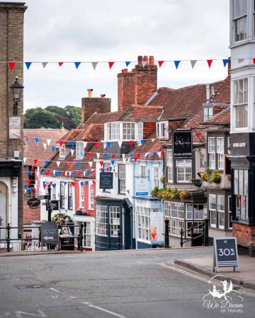 Pretty coastal town of Lymington in the New Forest, Hampshire
