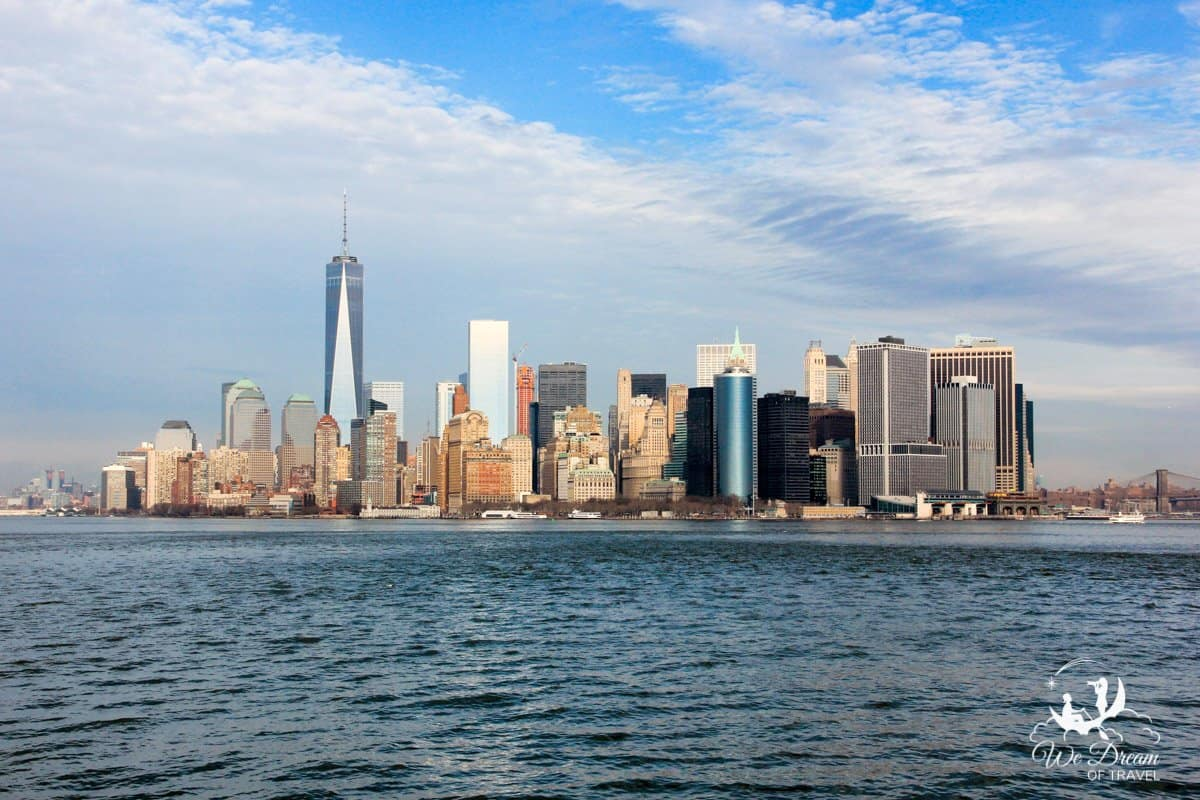 Viewing the iconic New York City skyline is a dream destination for many