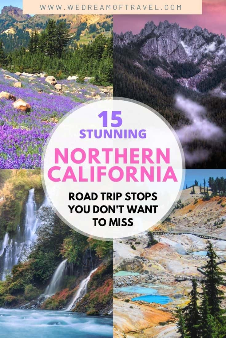 Discover the best places to visit in Northern California on an epic road trip. From breathtaking mountains to lakes and waterfalls, there's plenty to see and do in northern California. This Northern California road trip guide is complete with itineraries, map and photos to inspire your NorCal vacation or staycation! Northern California Travel   Northern California Road Trip   Northern California Things To Do   Road Trip Itinerary   Road Trip Map   Road Trip Places To Visit