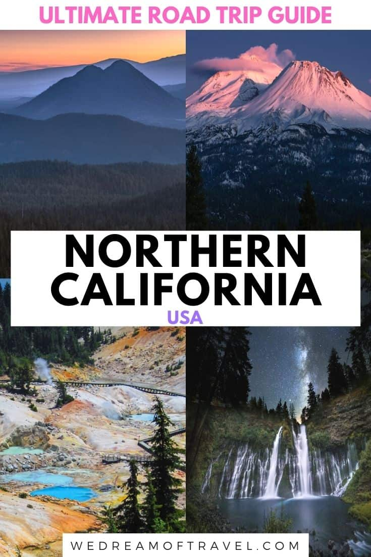 Find everything you need to know to plan the perfect Northern California Road Trip! Complete with itinerary examples, map, helpful tips and photos to inspire you. Discover plenty of things to do and see, including majestic mountains, pristine lakes, volcanic marvels and other natural wonders on this incredible NorCal road trip. Northern California Travel   Northern California Road Trip   Northern California Things To Do   Road Trip Itinerary   Road Trip Map   Road Trip Places To Visit