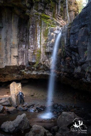 Hedge Creek Falls is worth the quick detour on a NorCal road trip!