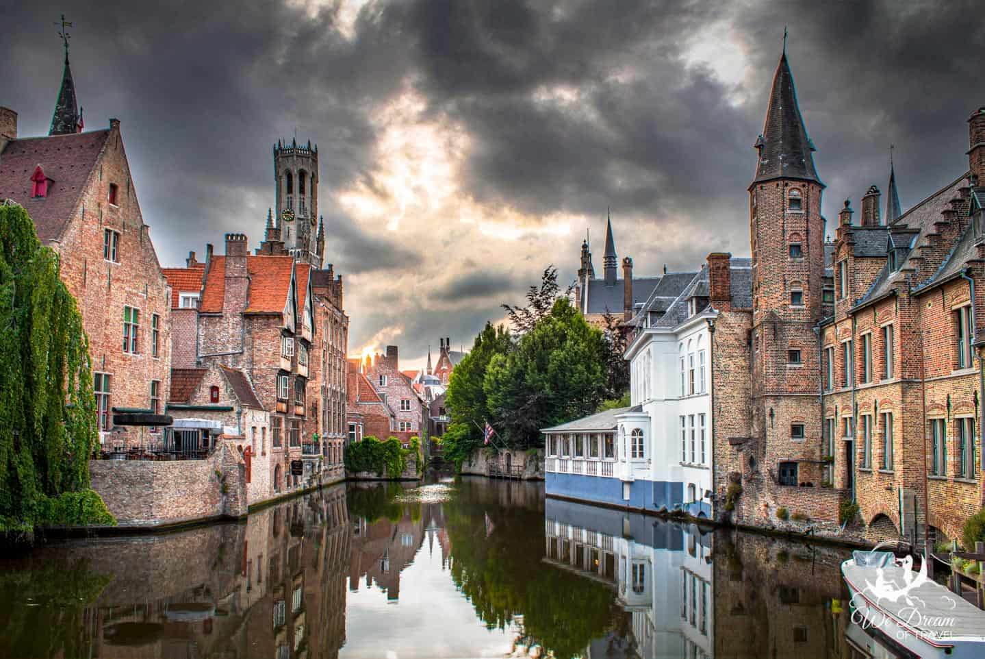 The historic city of Bruges in Belgium has charm, history, and drama all in once.