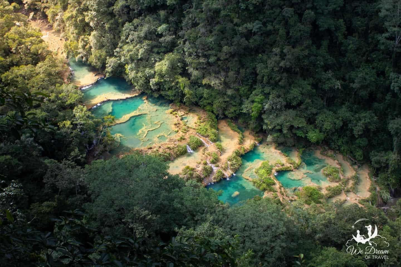 Paradise looks like Semuc Champey.