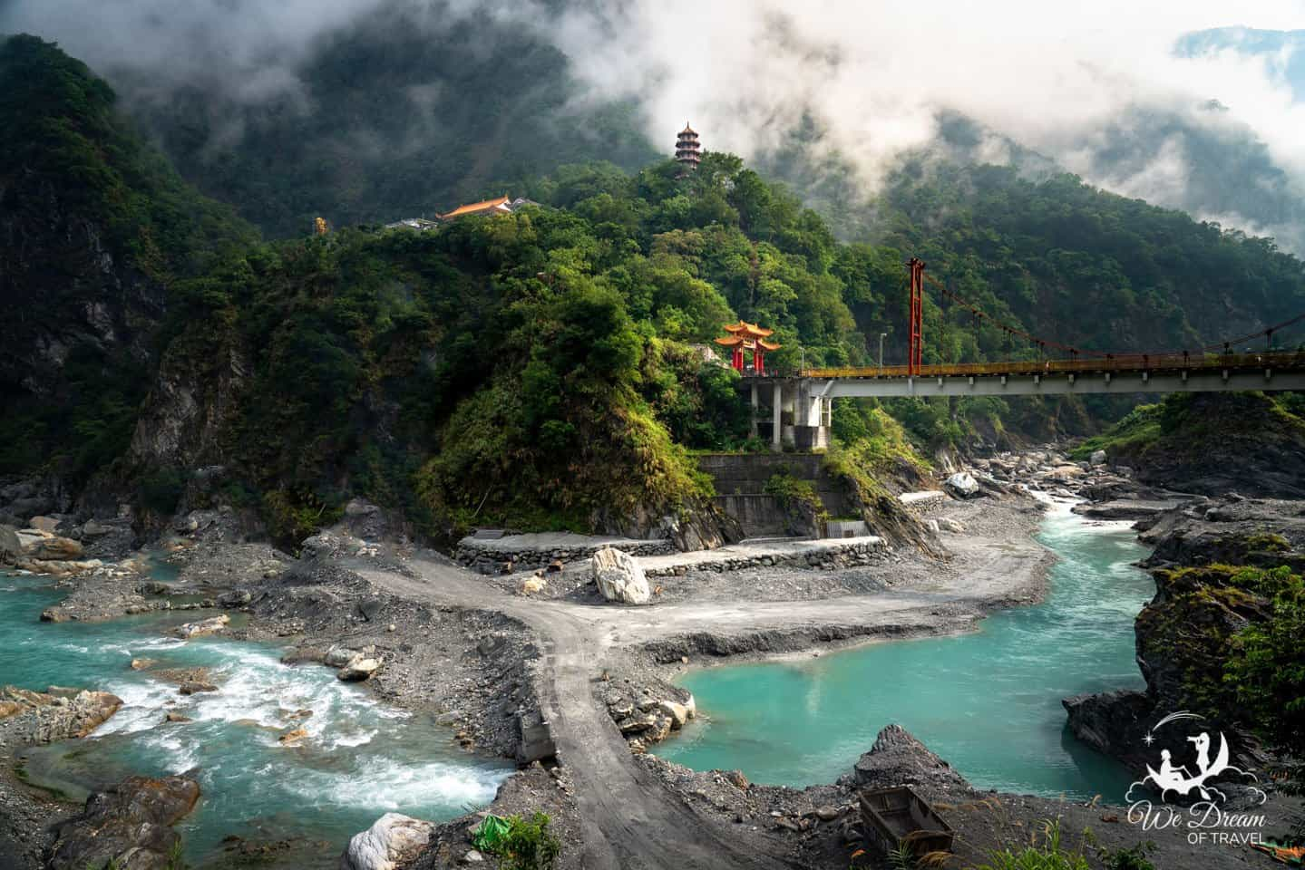 My favorite please in all of Taiwan and an undisputed dream destination is the Taroko Gorge.
