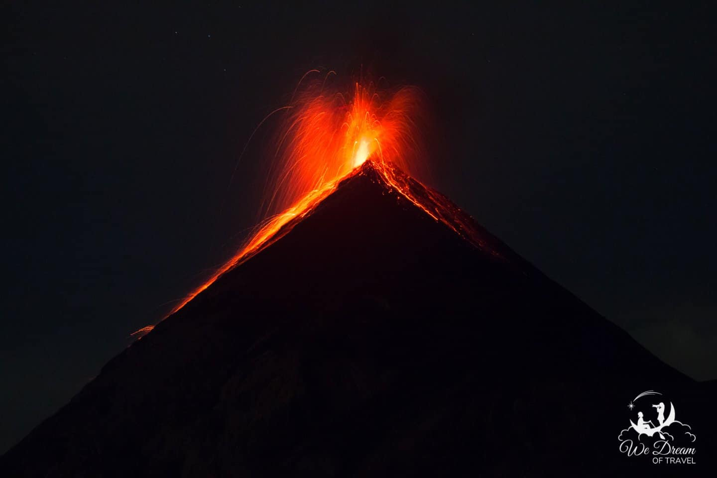 Watching a volcano erupt should be at the top of every bucket list!