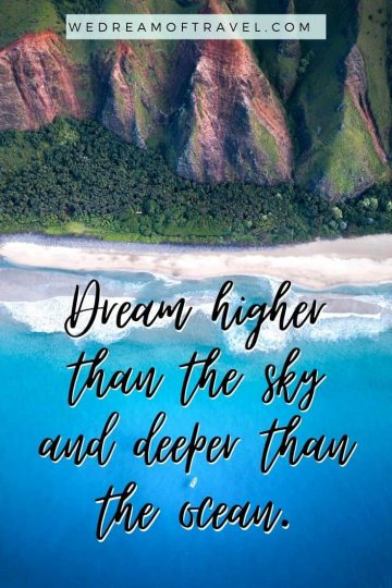 Looking for inspirational beach quotes? Or Instagram captions about the beach for your next post? Here are my 200+ of our favorite quotes about beaches complete with images to fuel your wanderlust and get you ready for that next trip to the beach. #beaches #beachquotes #beachyquotes #quotesaboutbeaches #beachinstagramcaptions #travelquotes #instagramcaptions
