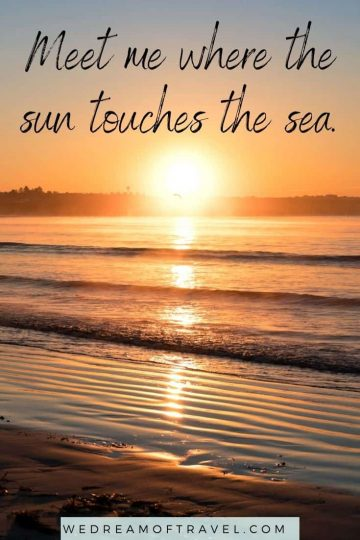 Discover 200+ of the BEST on the beach quotes to inspire you to get out to the seaside. Or maybe you're looking to reminisce about previous summer days on the beach. Either way we've got you covered with these beachy quotes for every occasion! beach quotes | beach quotes inspirational | beach quotes summer | beach quotes instagram | beach quotes short | mountain quotes funny | beach captions instagram | funny beach captions | travel quotes
