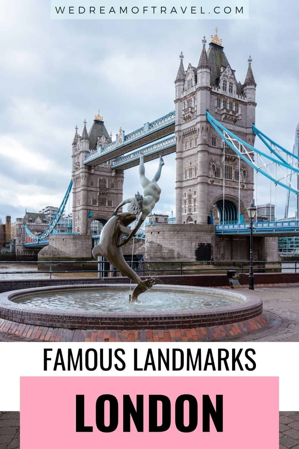 From centuries-old buildings to modern architectural marvels, discover 32 famous London landmarks you need to visit while in the capital city   London Landmarks | Landmarks in London | Things to do in London | London Travel | London England