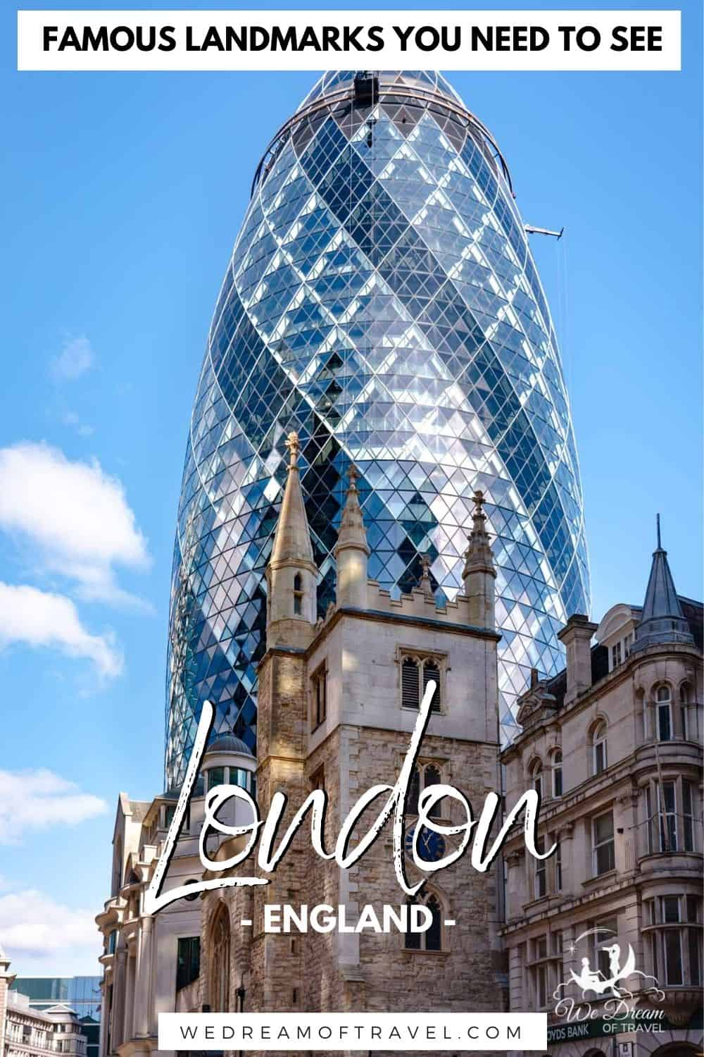 Planning a London vacation?  Discover all the best London landmarks to visit from a local.  From the historical Tower of London to the regal Buckingham Palace, iconic Big Ben and modern behemoth the Shard, this London travel guide will help you find all the best landmarks in London to see.  London Landmarks | Landmarks in London | Things to do in London | London Travel