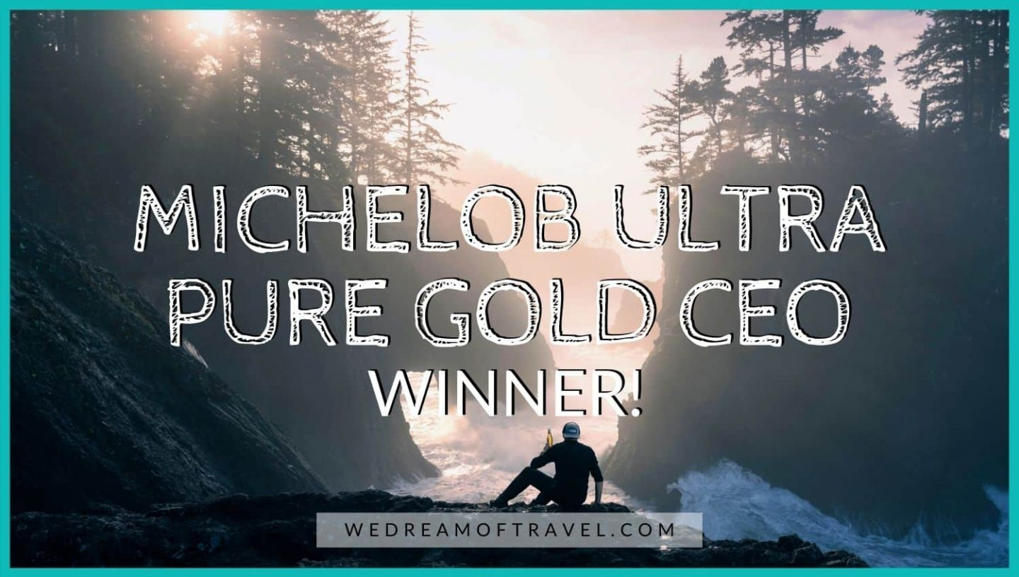 Michelob Ultra Pure Gold CEO Winner