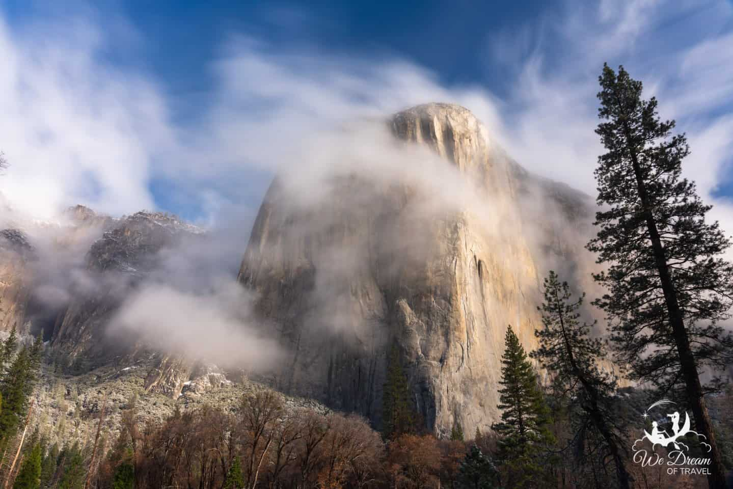 Enjoy breakfast with views of El Capitan on your day trip to Yosemite.