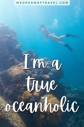 Looking for inspirational sea quotes? Or Instagram captions about the ocean for your next post? Here are 145+ of our favorite quotes about the sea complete with images to fuel your wanderlust and get you ready for that next trip to the beach or out on the water. #ocean #sea #seaquotes #oceanquotes #quotesaboutthesea #oceaninstagramcaptions #travelquotes #instagramcaptions