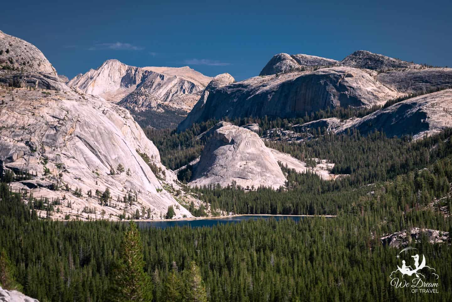 A summer visit to Yosemite National Park allows photography from Tioga Pass.