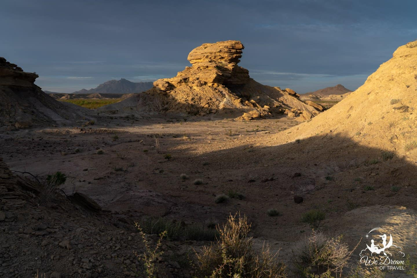 The morning golden hour is the best time for capturing those perfect Big Bend National Park pictures.