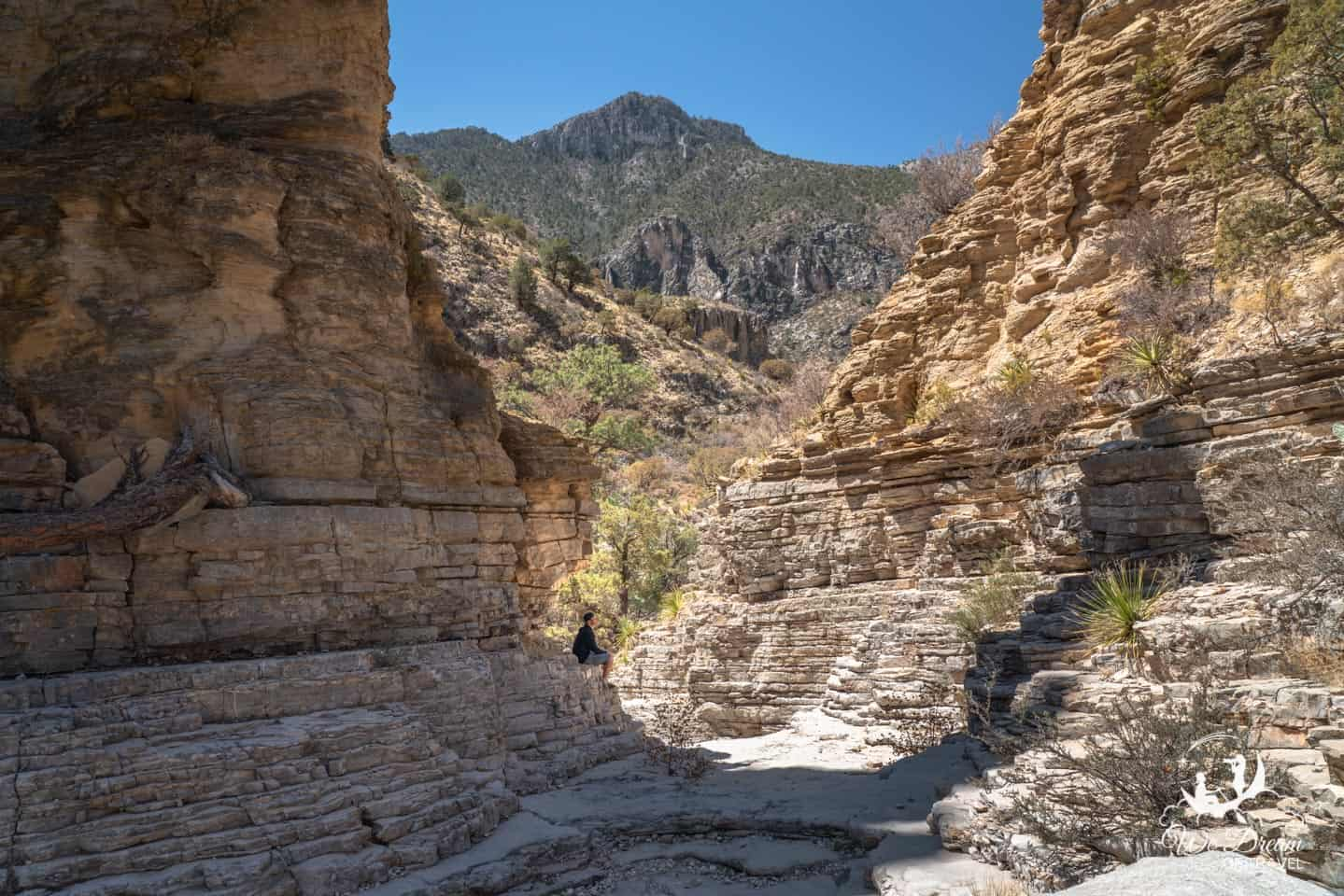 Devil's Hall is a popular hike from the Pine Springs Trail.