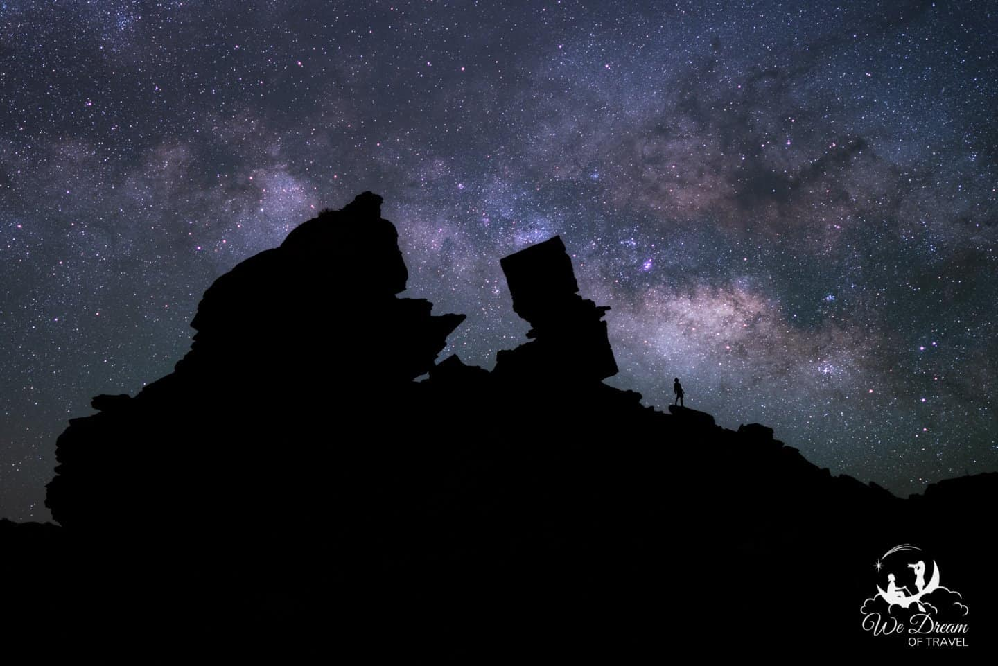 Milky Way photography in this Big Bend National Park picture.