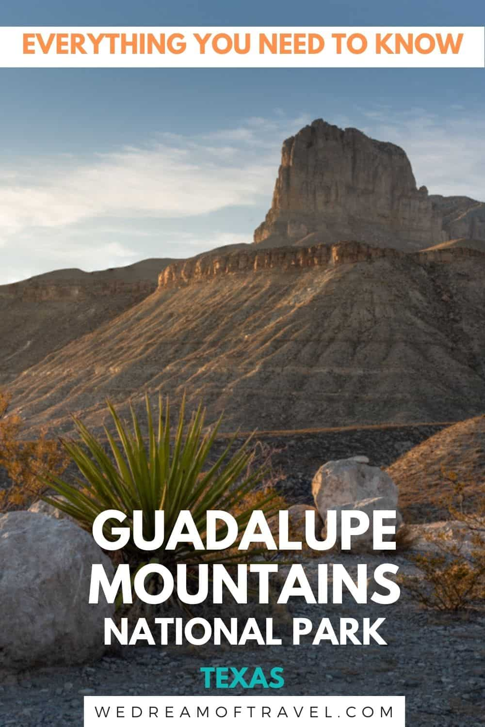 Guadalupe Mountains National Park is one of the least visited national parks.  Discover everything you need to know before you visit Guadalupe Mountains NP, including a one day itinerary and the best hikes in Guadalupe Mountains National Park.