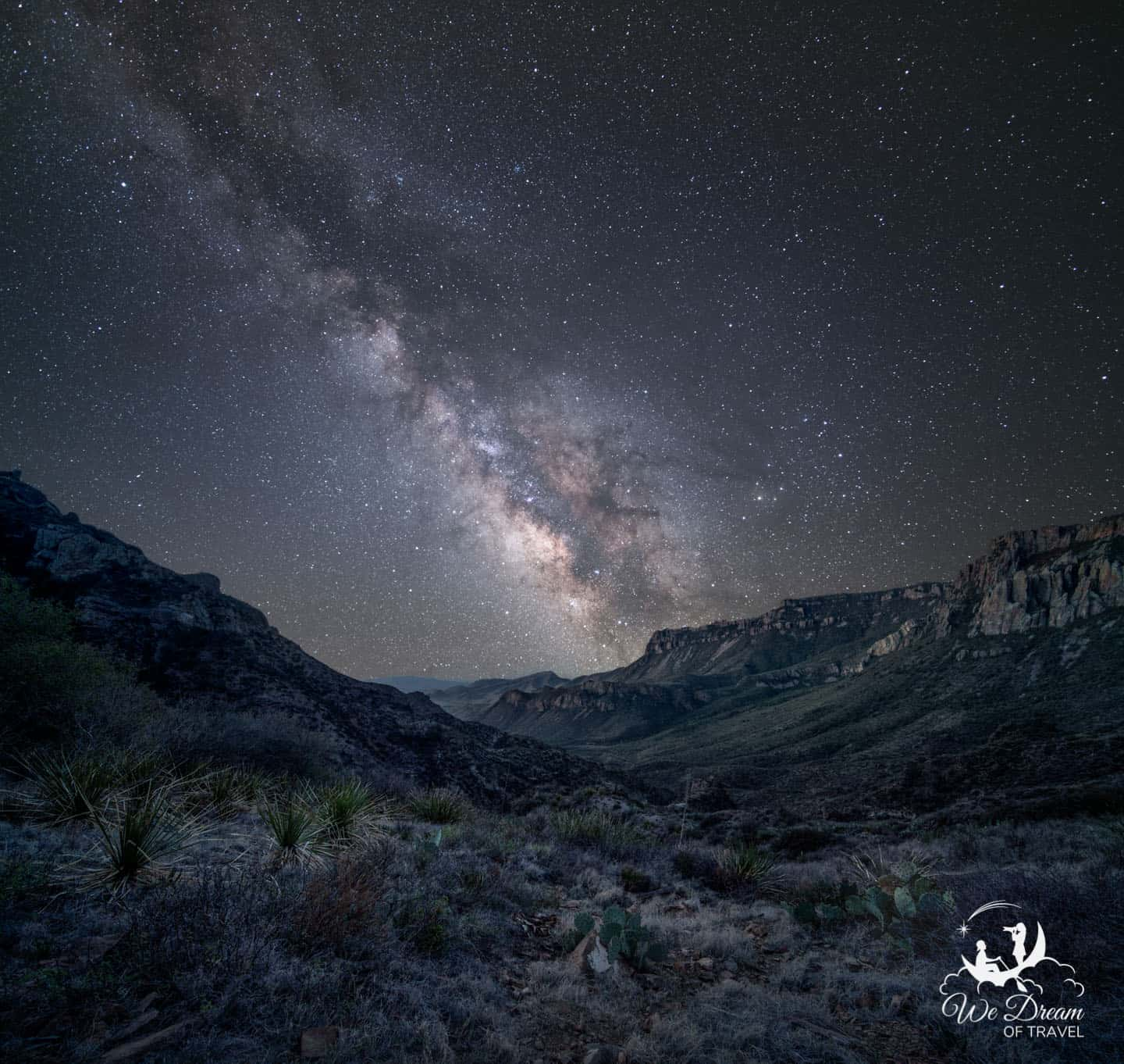 Lost Mine Trail MIlky Way night photography.