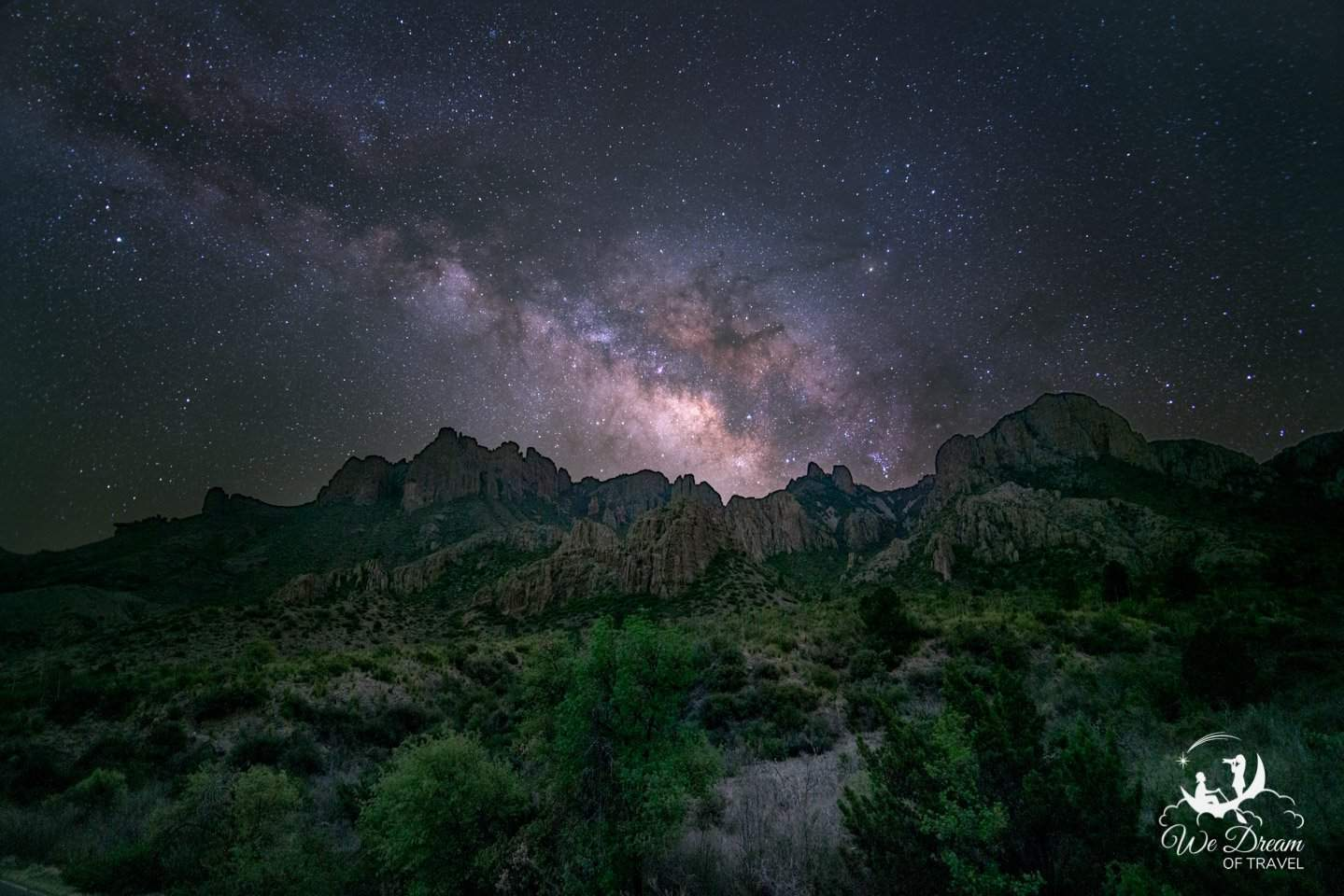 Milky Way picture from Big Bend National Park.