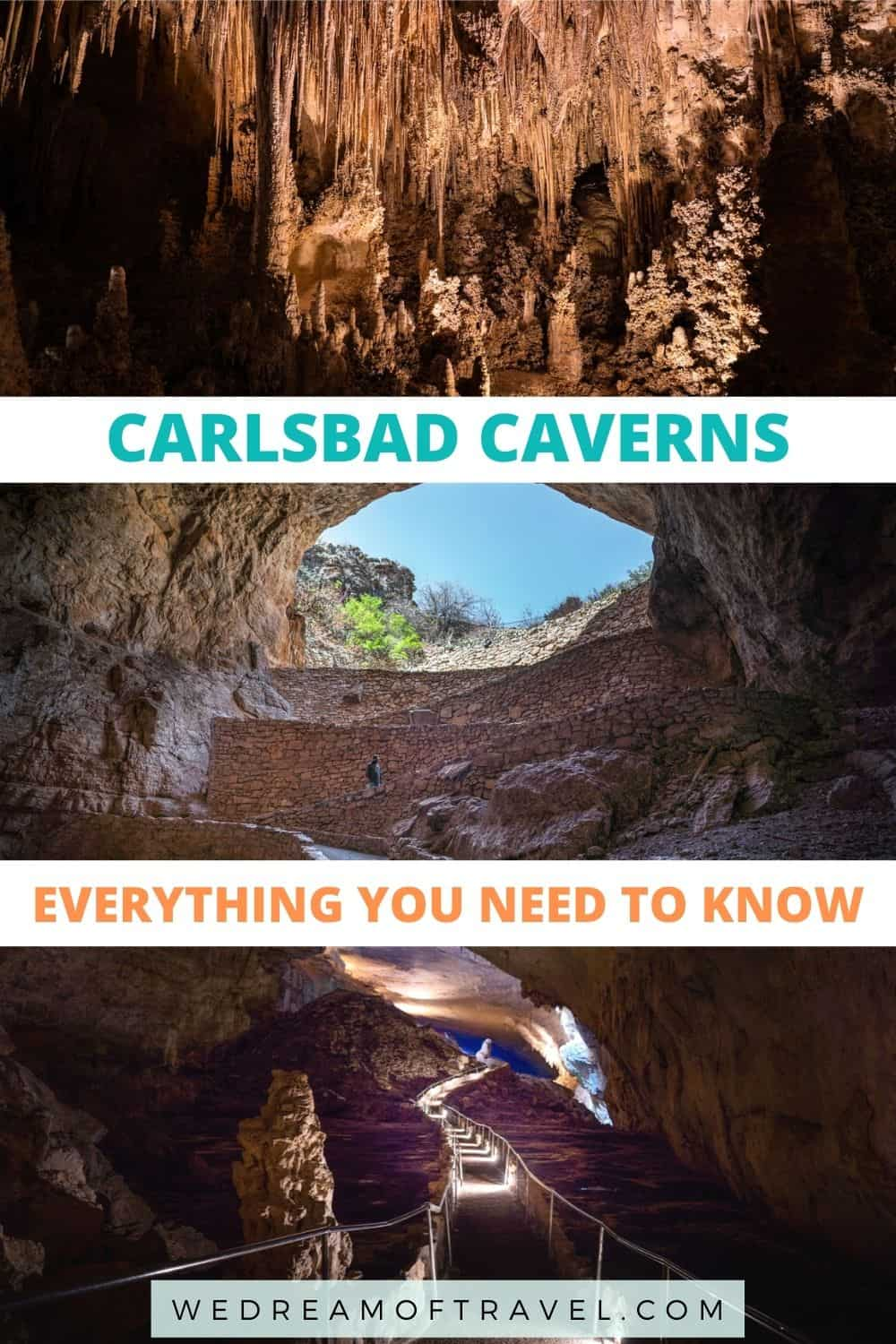 Learn everything you need to know about visiting Carlsbad Caverns National Park, one of the most impressive cave systems in the world!  Carlsbad Caverns Photography | Carlsbad Caverns New Mexico | Carlsbad Caverns National Park  | Things to do in New Mexico | Places to Visit in New Mexico | New Mexico National Parks | What to Do in Carlsbad New Mexico | What to Do at Carlsbad Caverns | Caves in New Mexico |